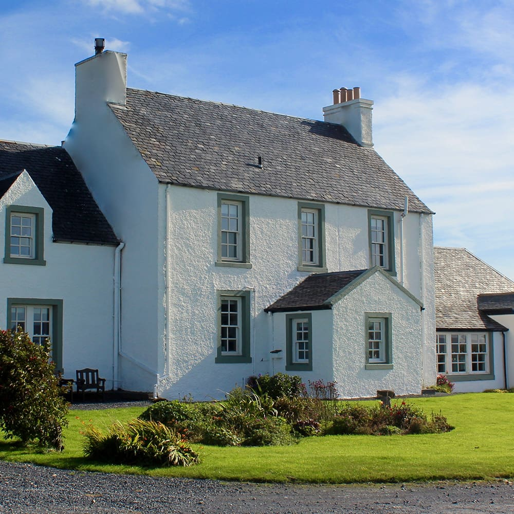 glenegedale house bed breakfast luxury stay exterior