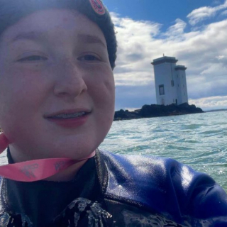 Sunday mornings done right over here on Islay by our daughter who wild swims with a group of lovely ladies every weekend.   Would you be brave enough?   #wildswimming  #islay #adventure  #RespectProtectEnjoy  @visitscotland